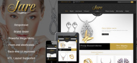 Luxury Responsive VirtueMart Joomla Template