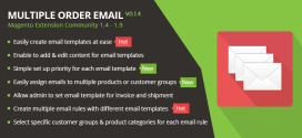 Banner-Multiple Order Email Magento Extension