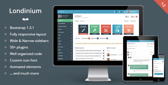 Londinium-responsive-bootstrap-3-admin-template