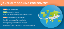 Flight-Booking-joomla-Component-