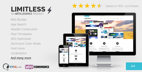Limitless-v2.4-Multipurpose-Drag-n-Drop-Theme