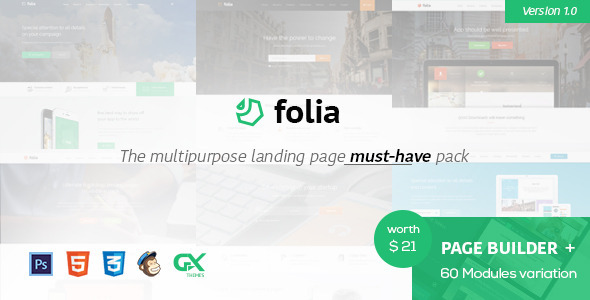 Folia-Landing-Pages-Pack-With-Page-Builder