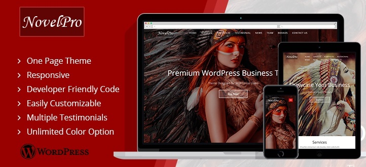 NovelPro-WordPress-Theme