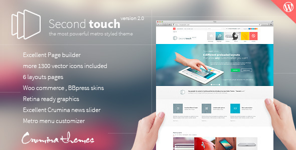 Second-Touch-v1.7.1-Powerful-metro-styled-theme