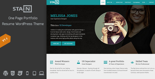 Stain-One-Page-Portfolio-Resume-WordPress-Theme