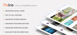 PixLine - All In One WordPress Theme
