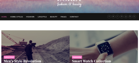Egret Fashion Beauty WordPress Theme