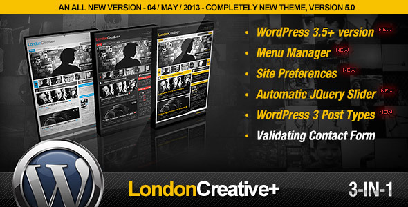 London-Creative-Portfolio-Blog-WP-Theme-v5.5