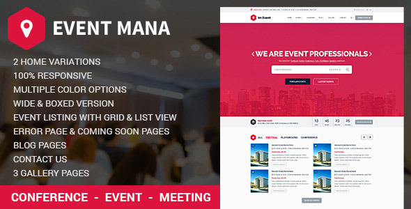 Event-Management-WordPress-theme
