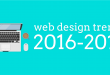 Prediction for Top 6 web design trends in 2017