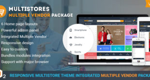 The fundamental features in Magento marketplace theme to build a complete multistore website