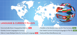 Currency Language Automatic Switcher Plugin